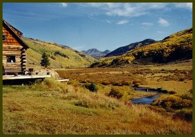 Colorado cabin rentals in the fall